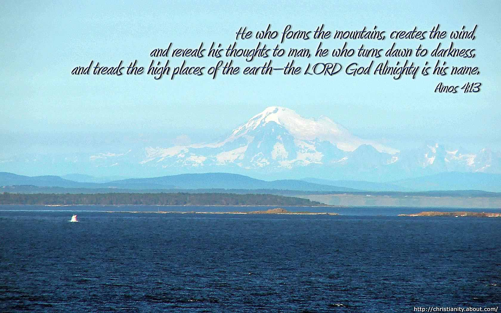 Enjoy Free Desktop Wallpaper With Bible Verses And Pictures High Places Widescreen Image C Bill Fairchild