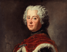 Portrait of Frederick II of Prussia as Crown Prince, 1739, by Antoine Pesne