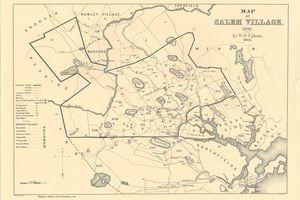 A map of Salem Village