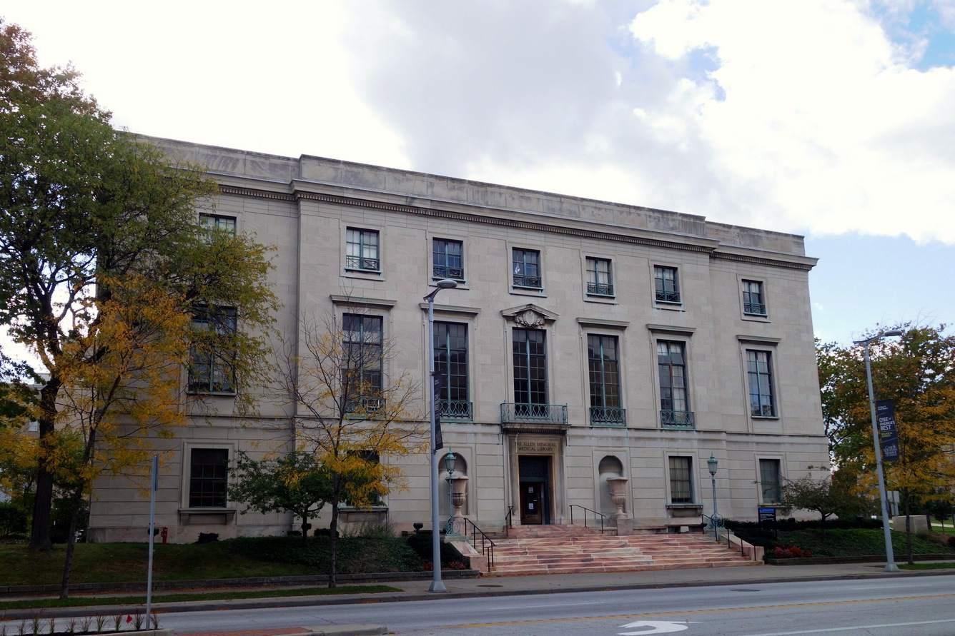 Allen Memorial Medical Library Case Western Reserve Universityssä