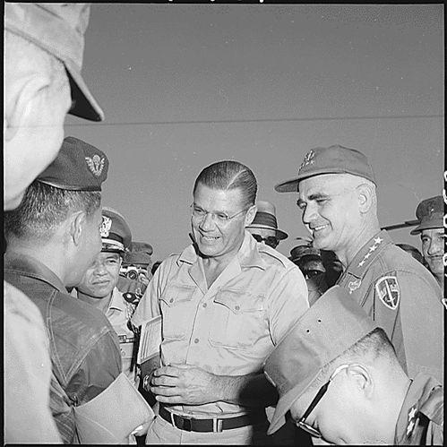 Secretary McNamara and General Westmoreland during the Vietnam War