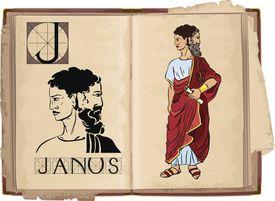 graphic of Janus