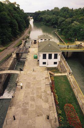 Erie Canal, Lockport, NY