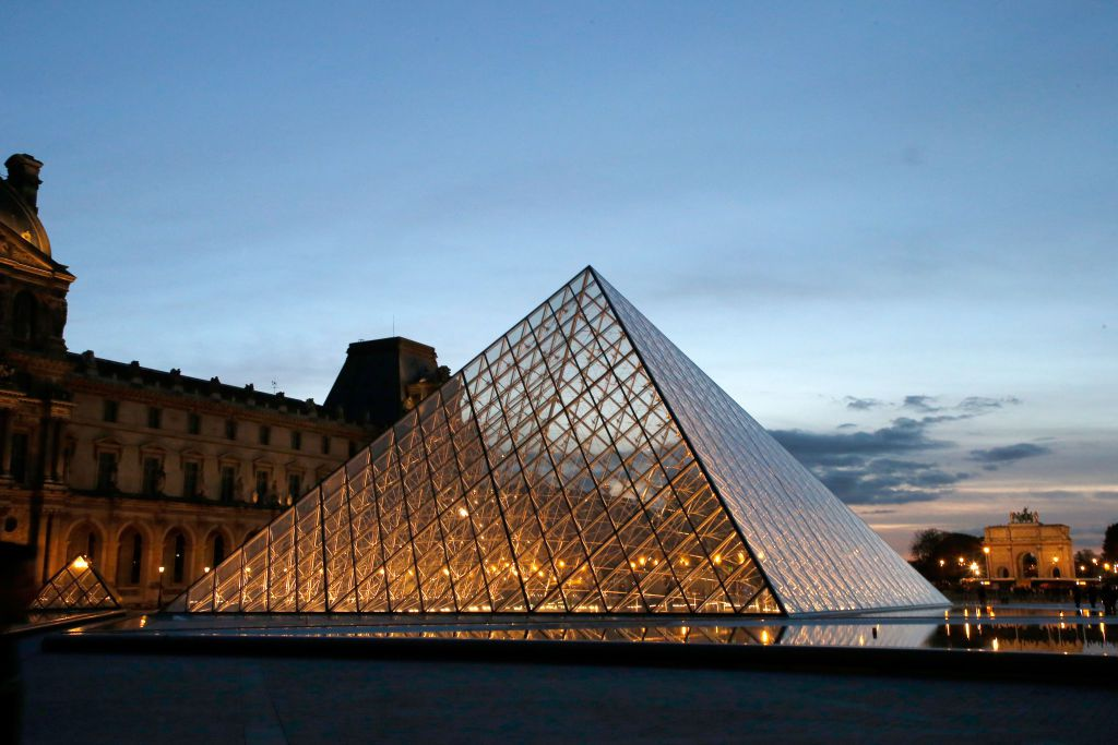 The Louvre Pyramid by IM Pei