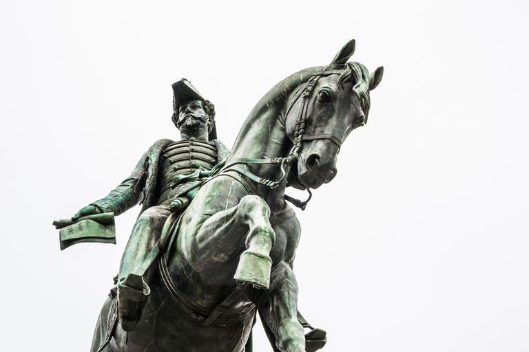 Dom Pedro I statue