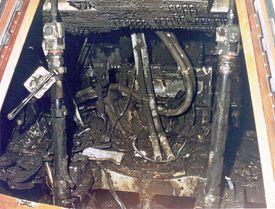 Apollo 1 Mission and Fire Pictures - Apollo 1 Fire