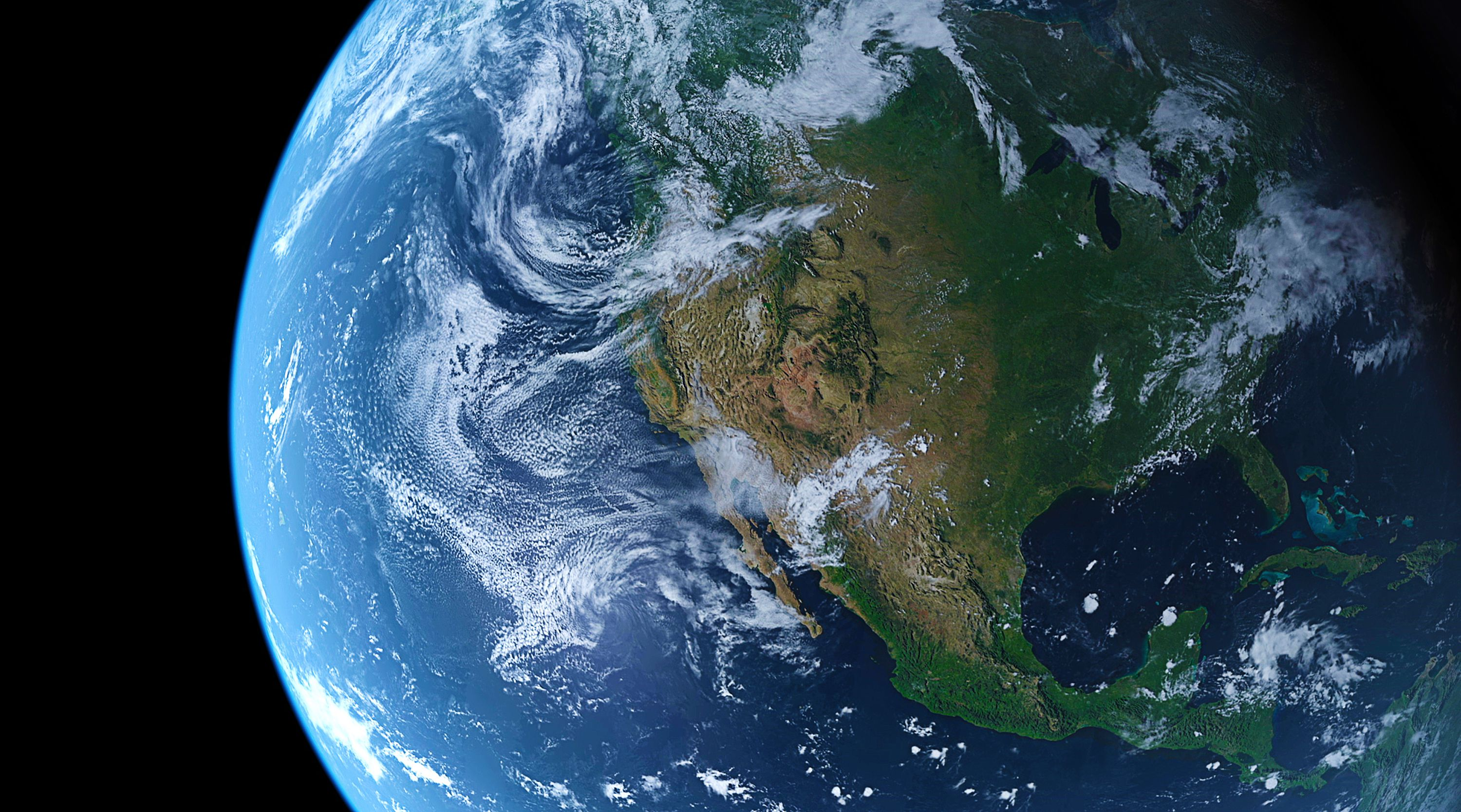 The present day earth