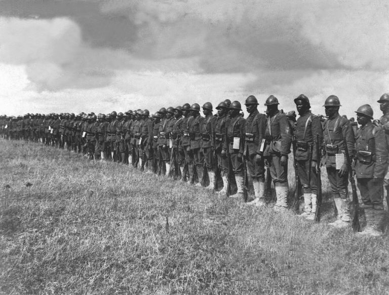 The Role of African Americans in World War I