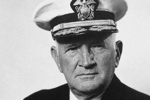 Jesse B. Oldendorf during World War II