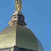 University of Notre Dame Golden Dome