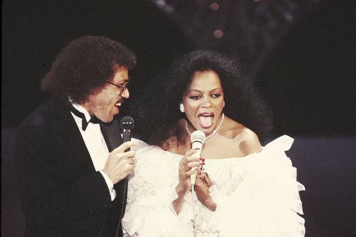 Lionel Richie and Diana Ross
