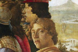 botticelli self-portrait detail adoration of the magi