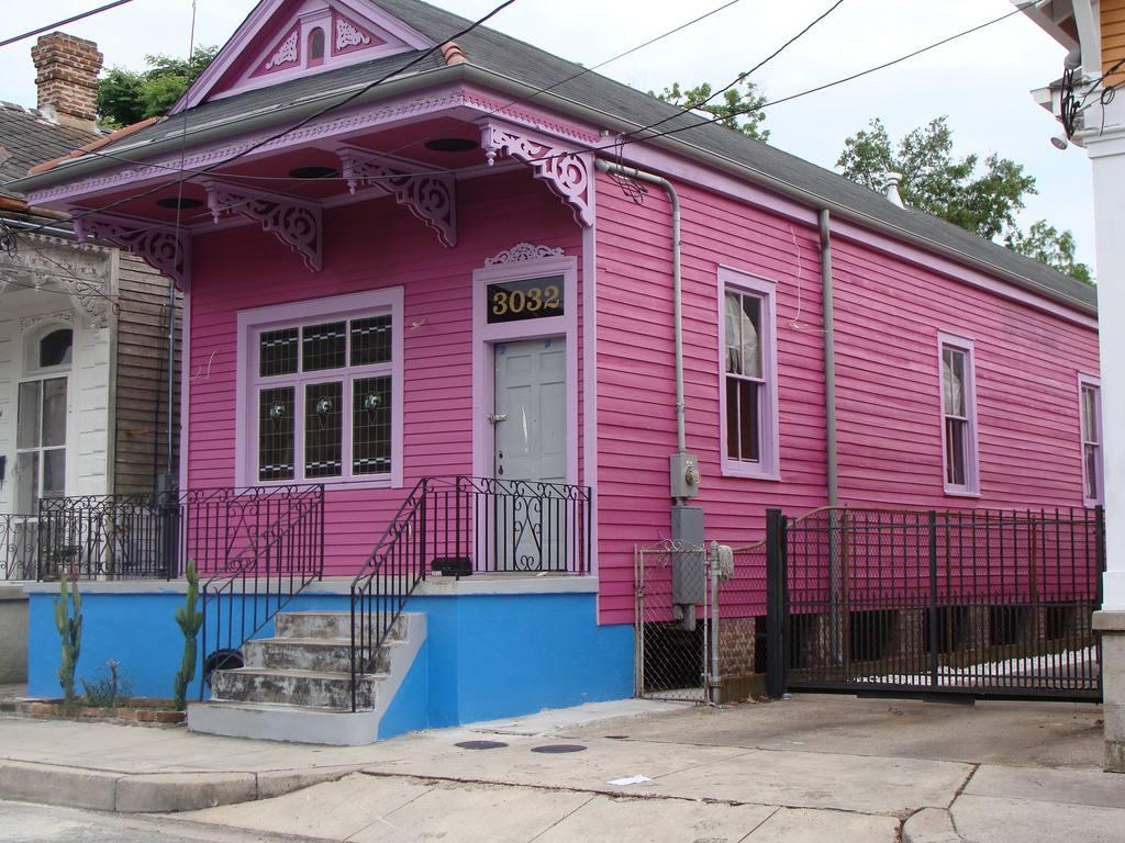 maison de fusil de chasse peint en Nouvelle Brillamment Orléans, Louisiane