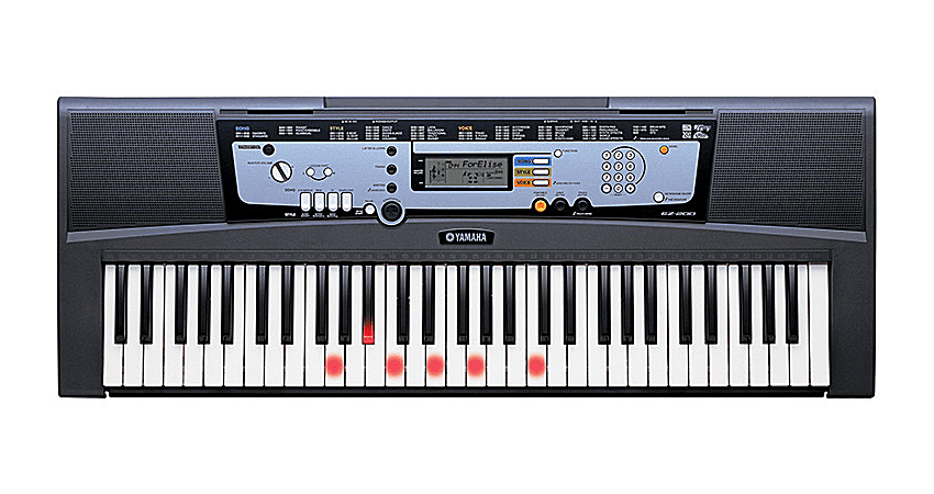 yamaha ez 200 61 key musical keyboard. Black Bedroom Furniture Sets. Home Design Ideas