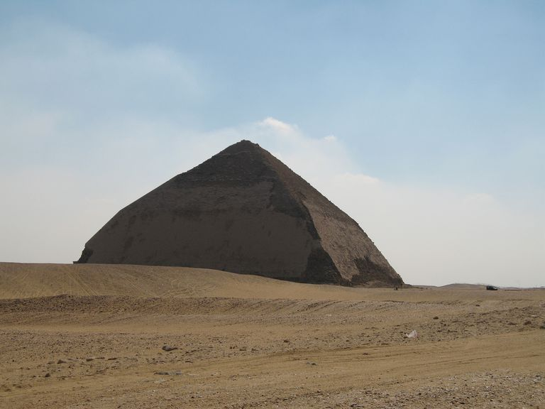 bent pyramid insight in egyptian architectural history