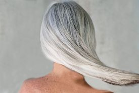 Grey-Haired Woman