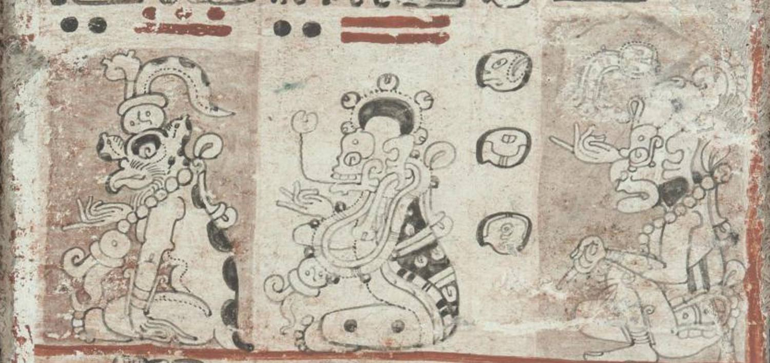 Ah Puch in the Dresden Codex