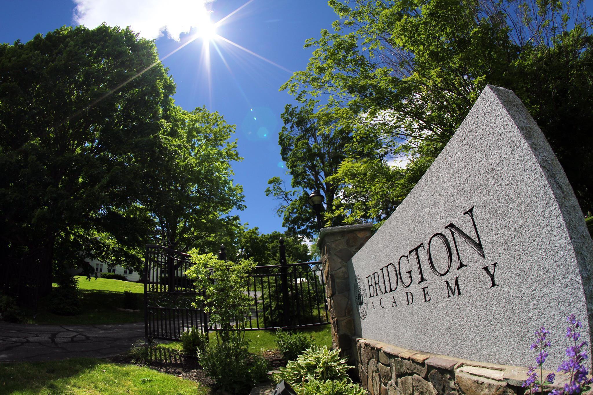 Bridgton Academy sign