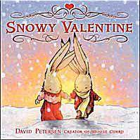 Cover art for Snowy Valentine children's picture book