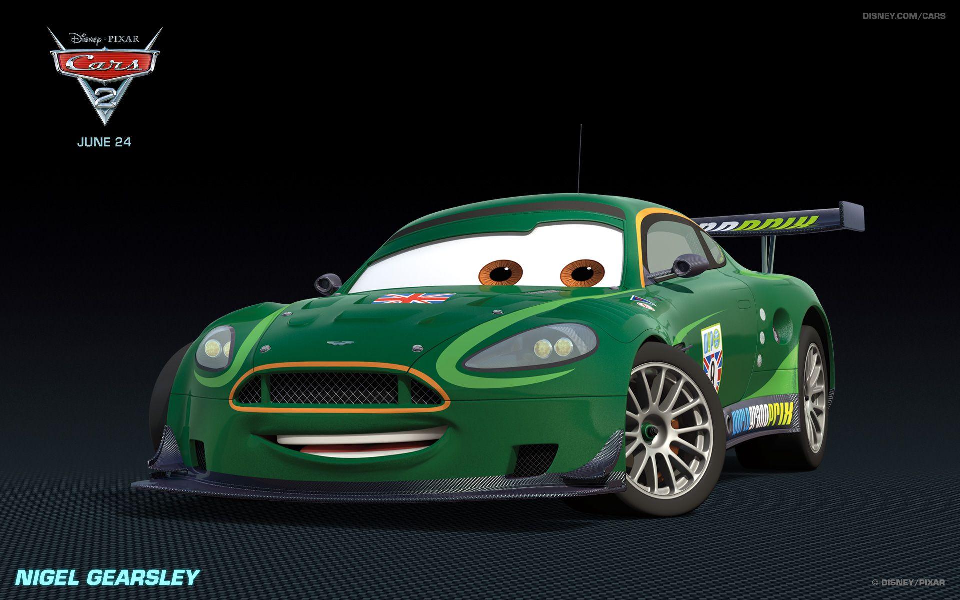 Exotic Cars in Pixar s Cars 2