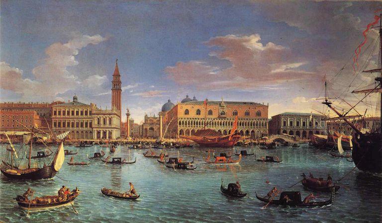 San Marco Basin, Venice, 1697, Gaspar van Wittel