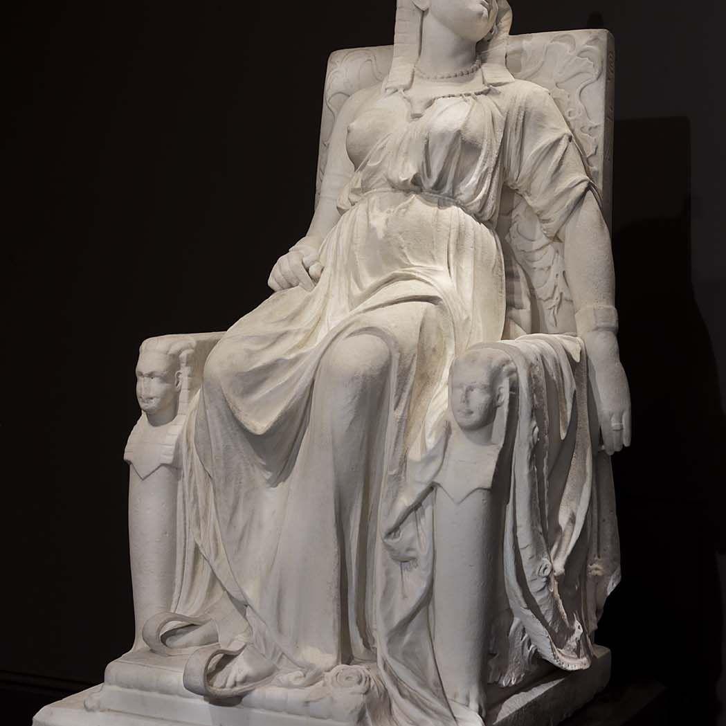 Edmonia Lewis' most famous sculpture: