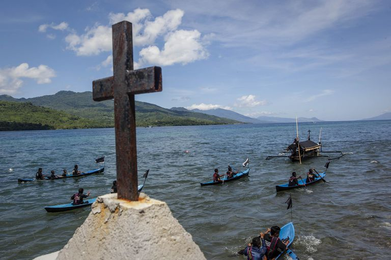 Holy Week Celebrated In Larantuka