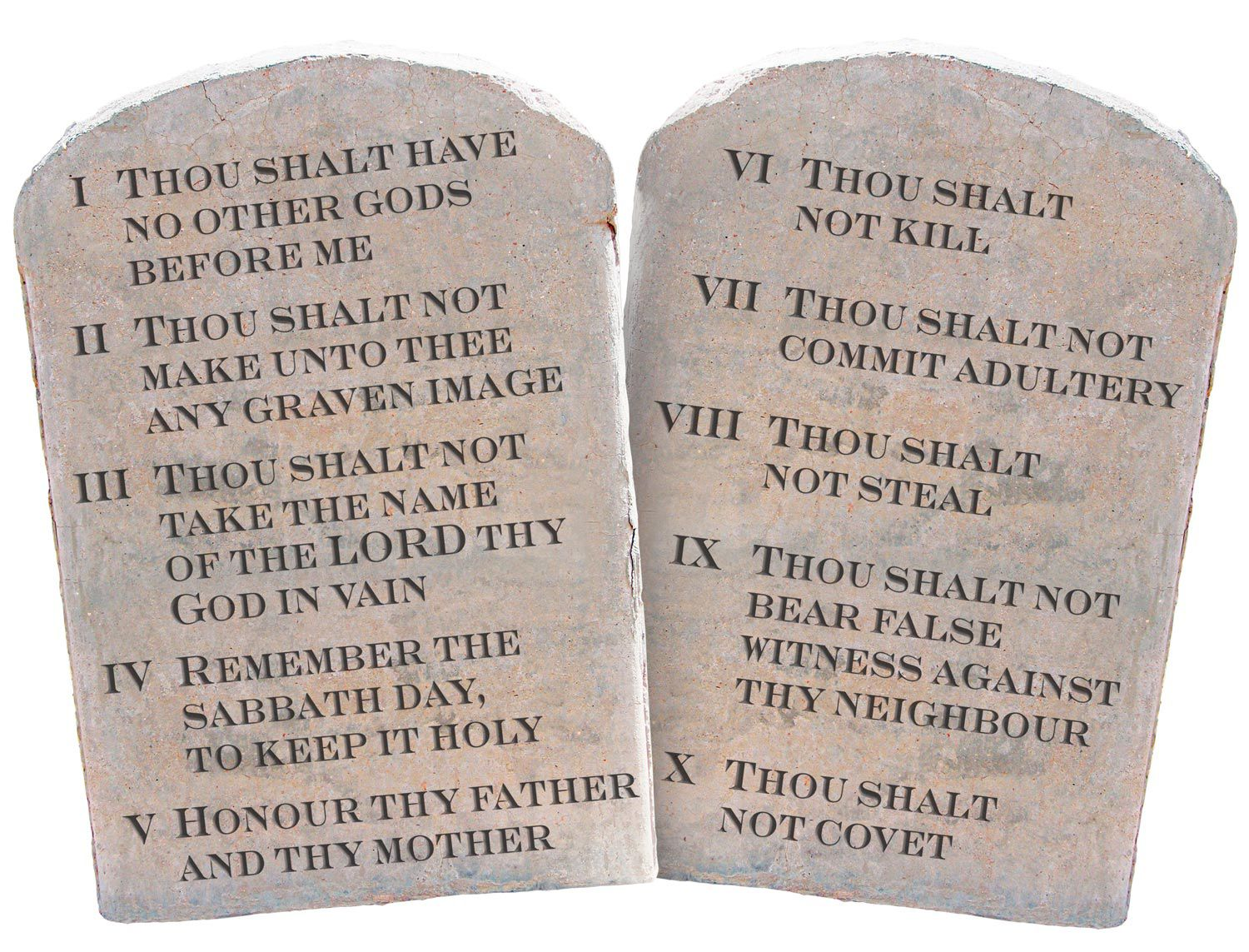the ten commandments essay The ten commandments (exodus 20: 1-14), pronounced there by the lord god to the assembled and recently liberated children of israel, constitute the most famous teaching of the book of exodus, perhaps of the entire hebrew bible.