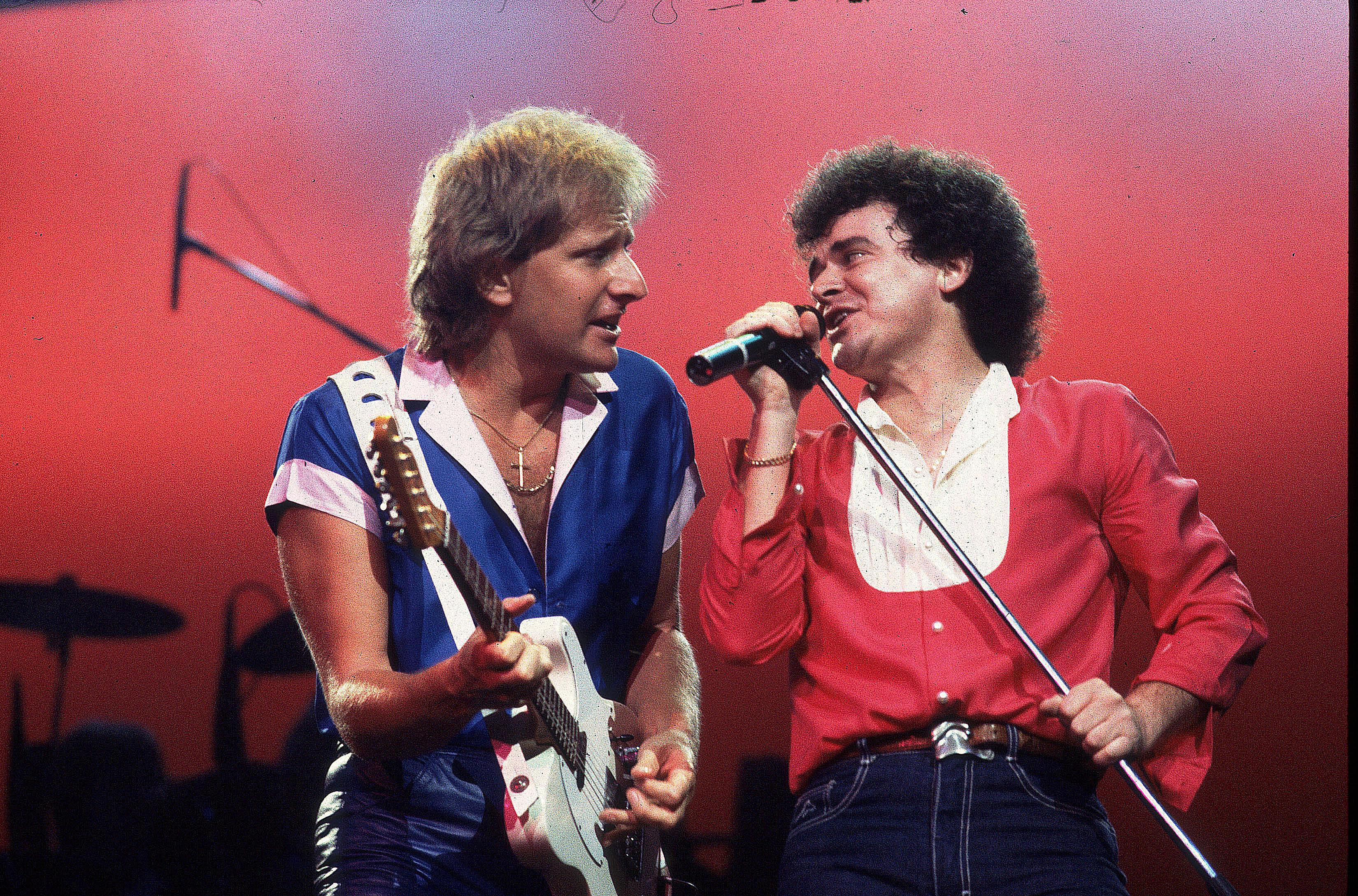 Ilmansyöttö kiertueella Yhdysvalloissa vuonna 1983 (Graham Russell (l) ja Russell Hitchcock).