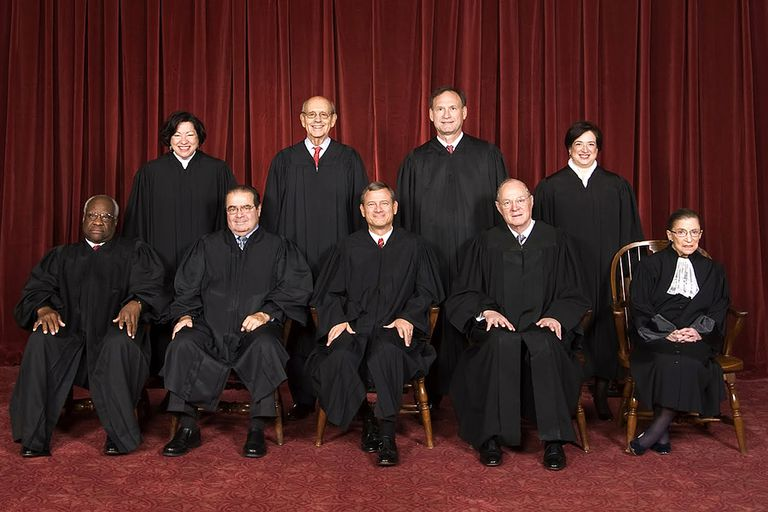 The U.S. Supreme Court is pictured here in 2010.