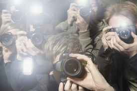 Photographers taking photos.