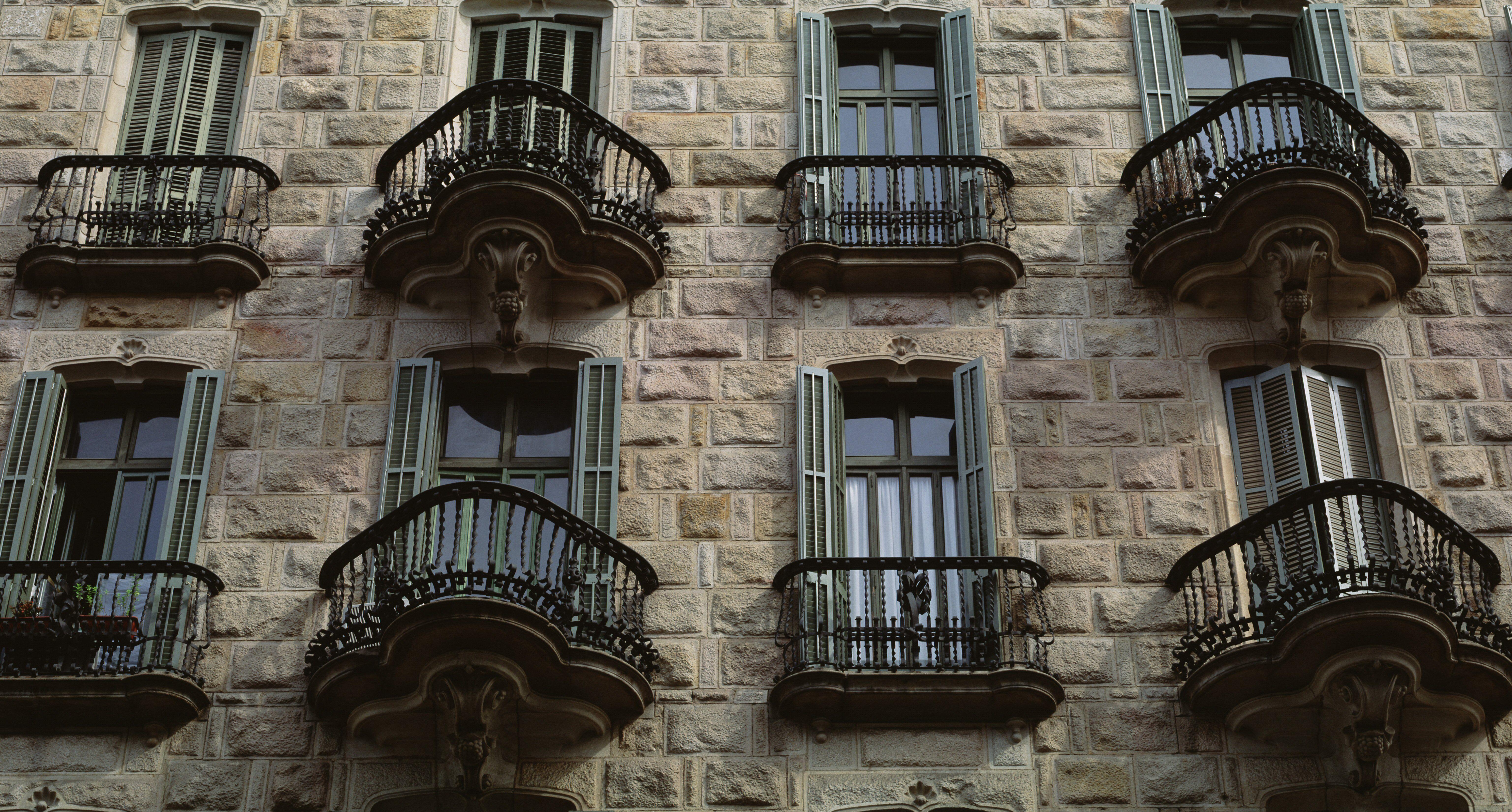 Casa Calvet by Antoni Gaudí in Barcelona