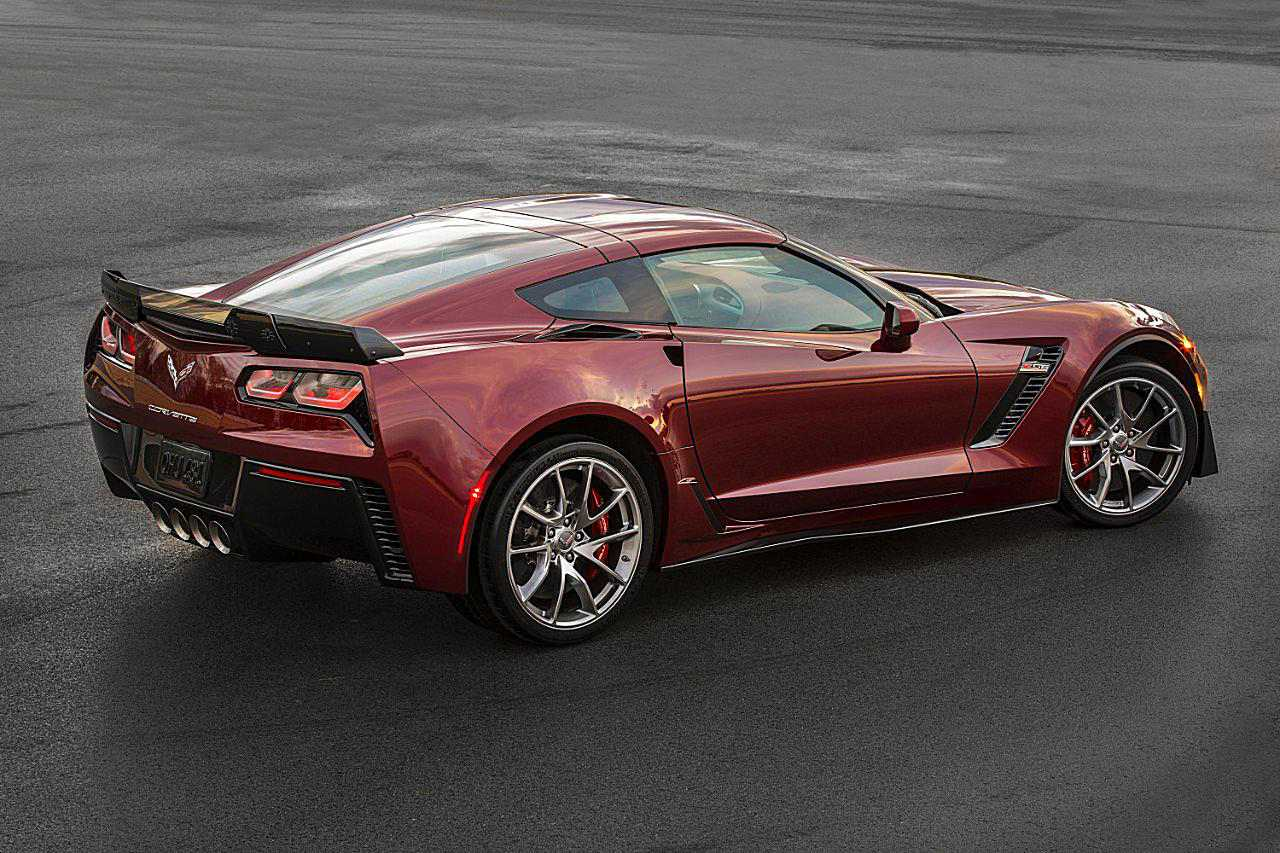 2016 Corvette Stingray And Z06 E Red Design Package Photo Courtesy Of General Motors