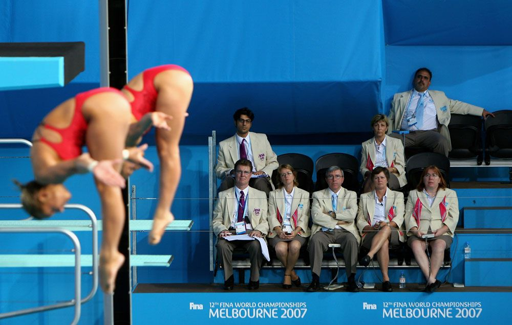 Rules for Scoring Competitive Springboard Diving