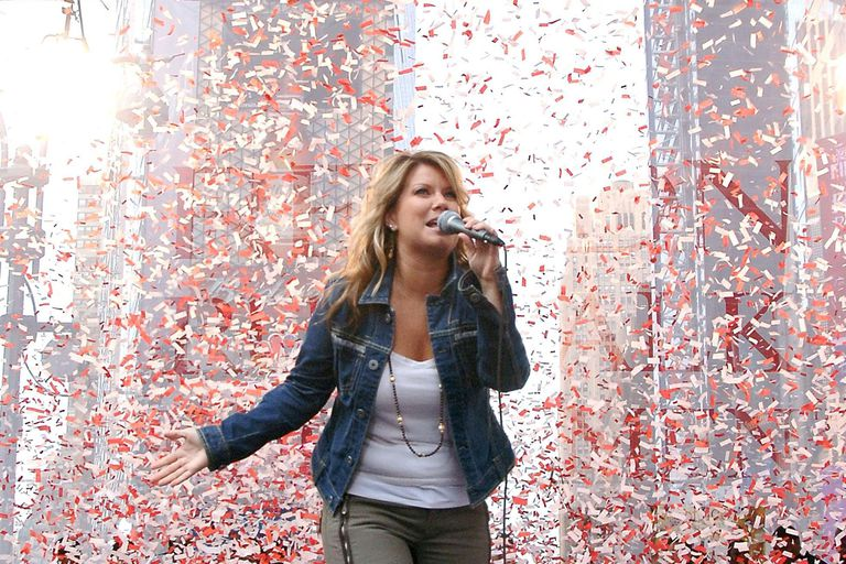 Singer Natalie Grant performs at the Entertainment Industry Foundation's 9th Annual Revlon Run/Walk for Women