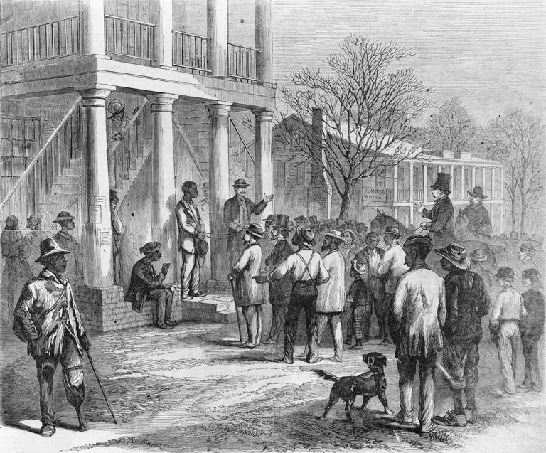 Former slaves were often fined after the passage of the Black Codes.