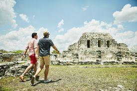 Mayapán ruins
