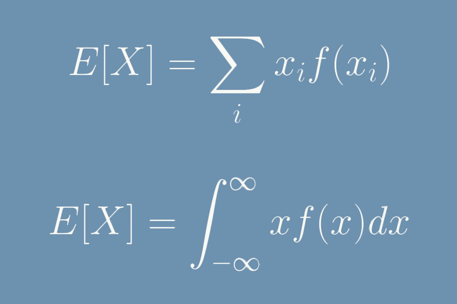 The Formula for Expected Value