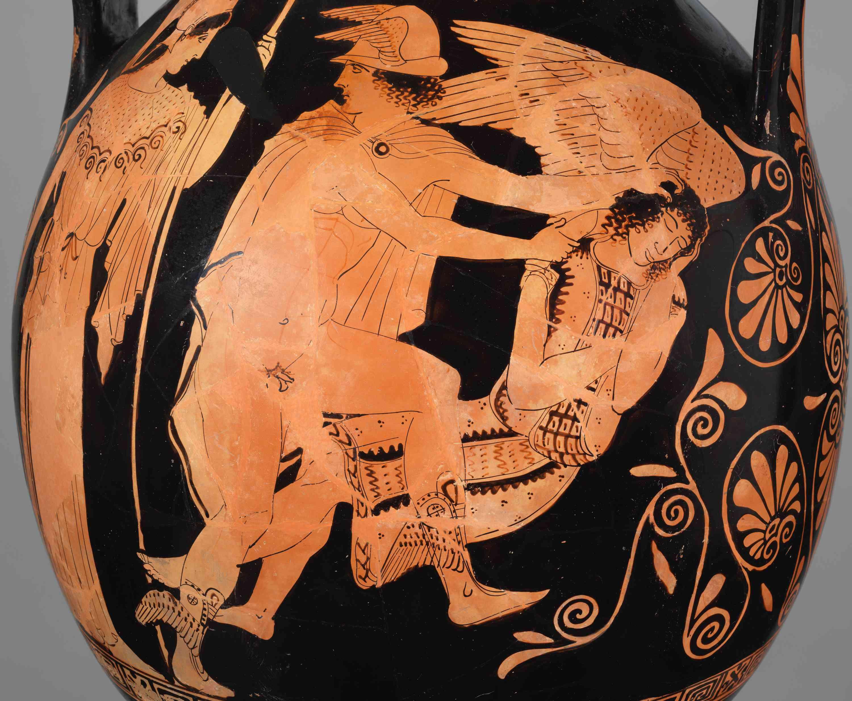 Perseus and Medusa, 5th Century BCE Attic Jar
