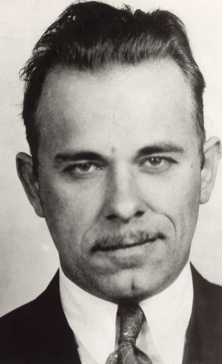 John Dillinger - FBI's Public Enemy Number 1