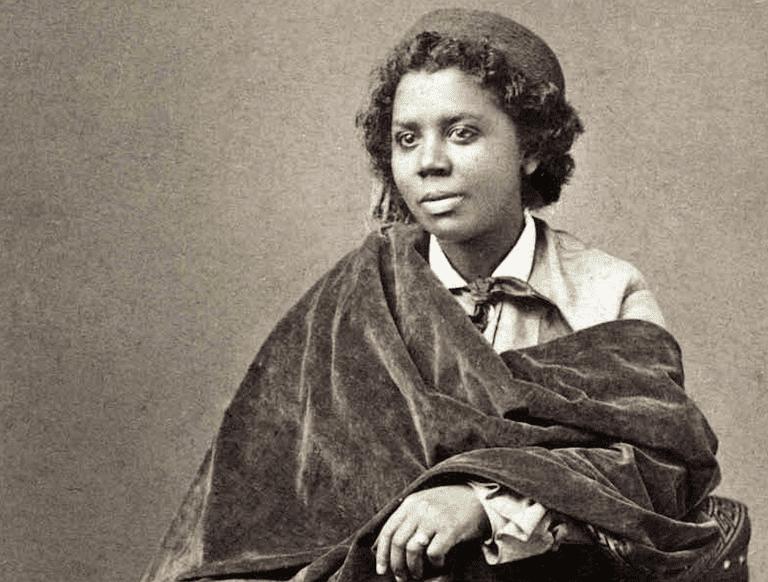 Portrait of Edmonia Lewis, 1870