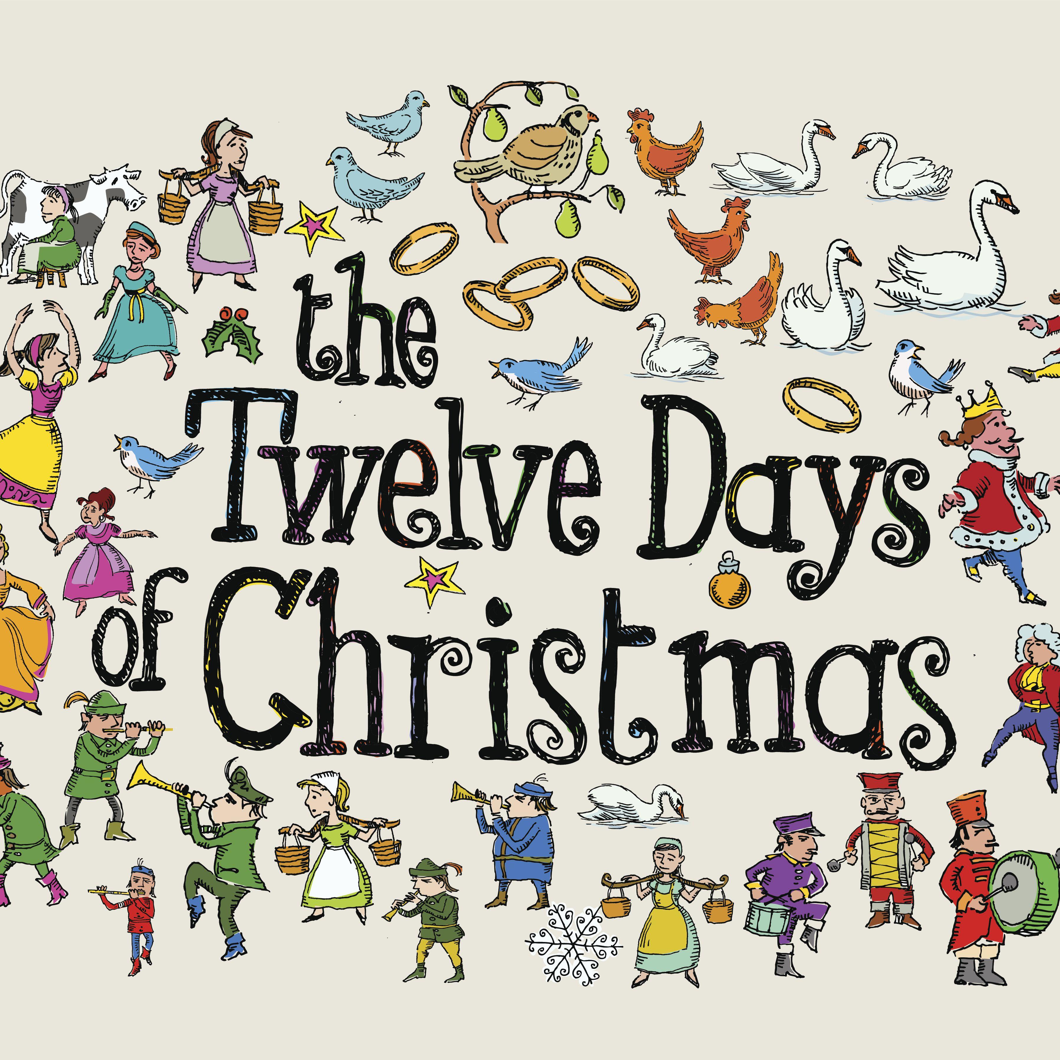 Twelve Days Of Christmas Printables Wordsearch More