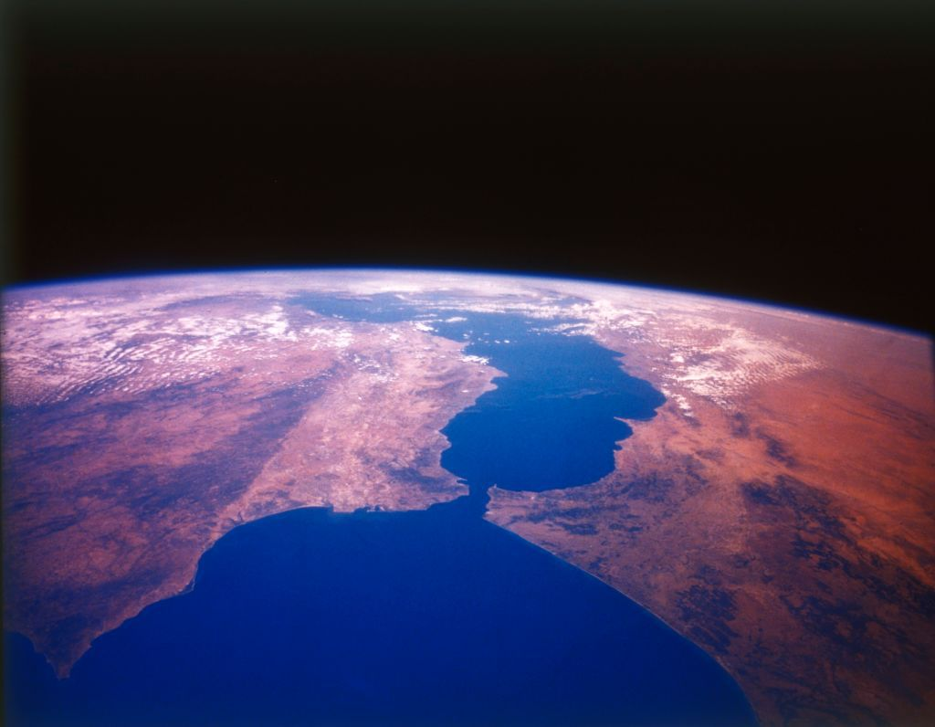 Earth From Space - The Straits Of Gibraltar