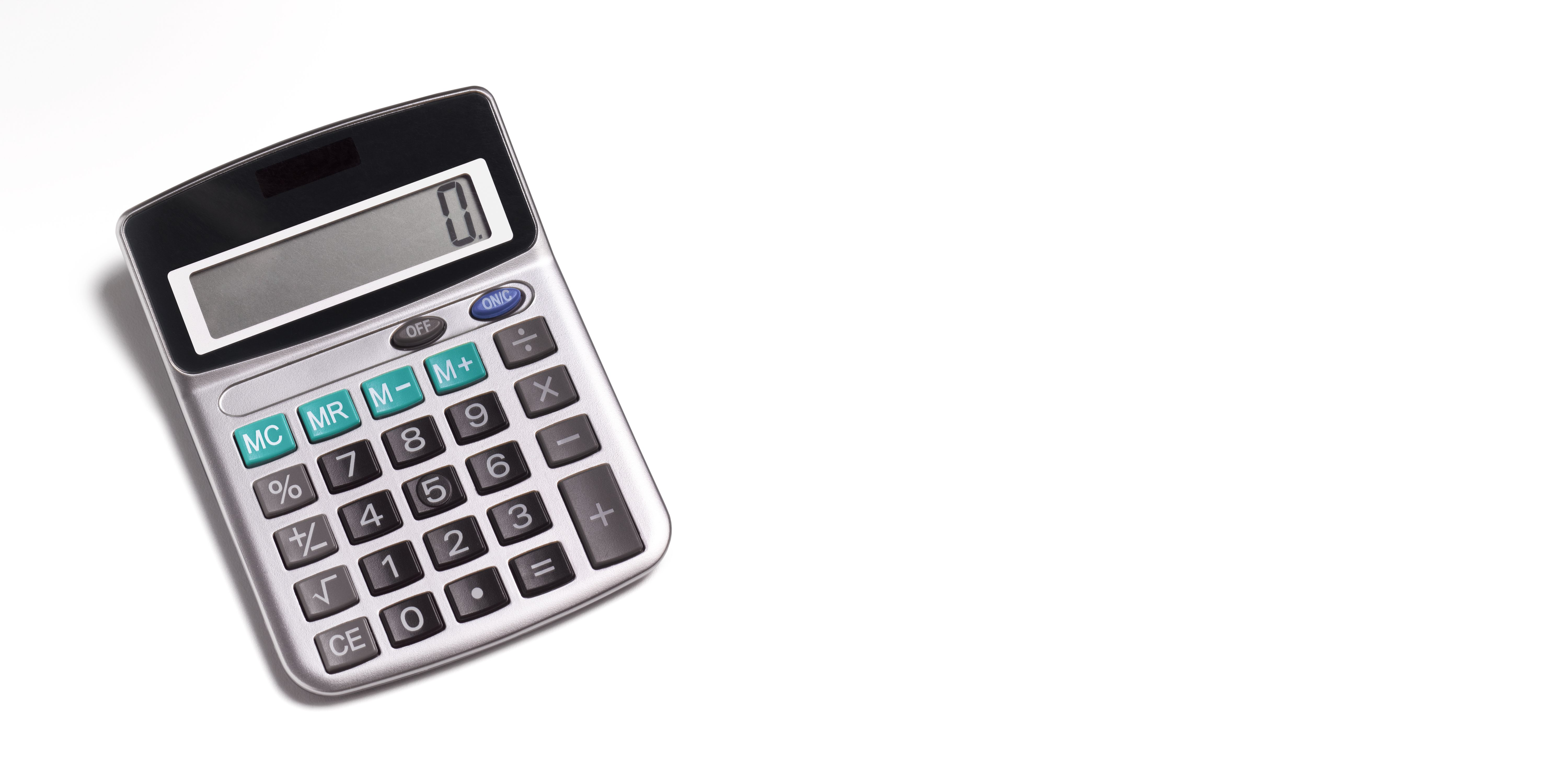 Dividing by zero will give you an error on your calculator.