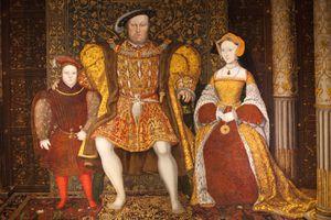 King Henry VIII, Jane Seymour and Prince Edward