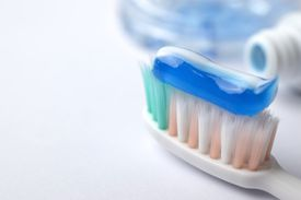You can find fluoride in fluoridated toothpaste.