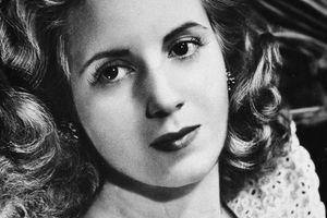 Picture of Argentinia's first lady, Eva Peron (Evita).