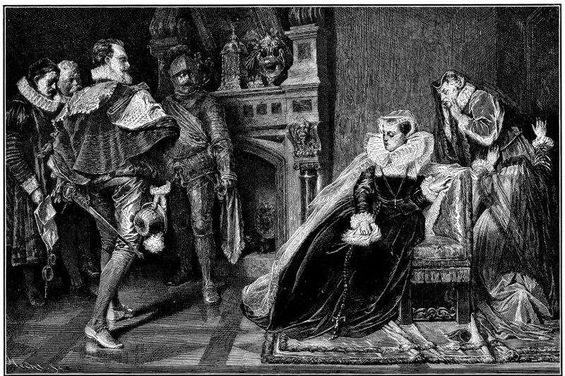 Mary, Queen of Scots, Arrested
