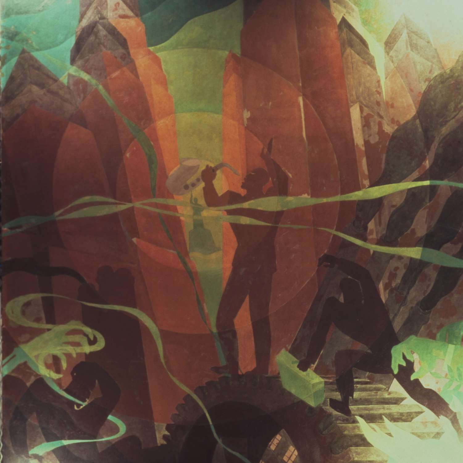 song of the towers aaron douglas