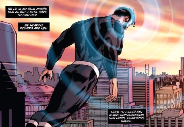 Comic panel of Superman: Lois & Clark #6 by Dan Jurgens and Lee Weeks